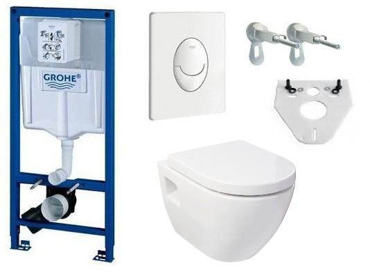 grohe rapid sl vorwandelement design wand wc sitz set toilette sp lkasten ebay. Black Bedroom Furniture Sets. Home Design Ideas