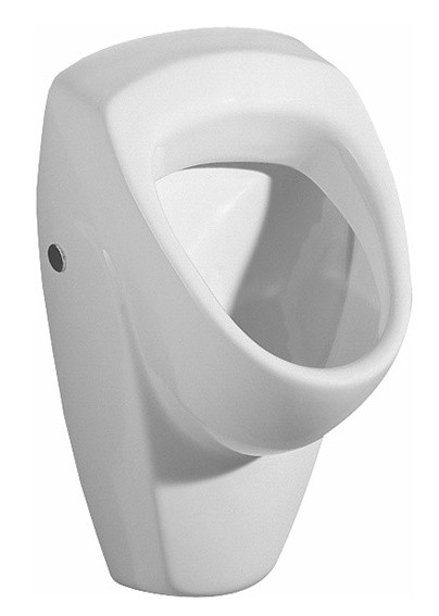 keramag urinal renova nr 1 zulauf und abgang hinten wei 235300000 ebay. Black Bedroom Furniture Sets. Home Design Ideas