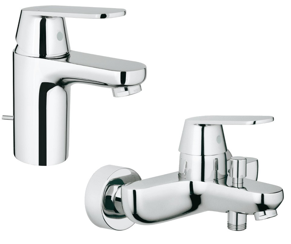 grohe eurosmart cosmopolitan armaturen set. Black Bedroom Furniture Sets. Home Design Ideas