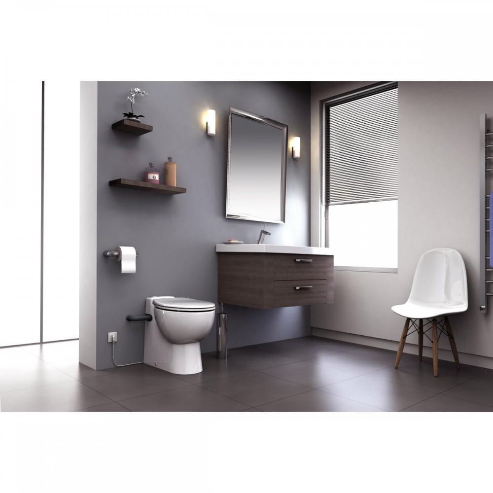 sfa sanibroy sanicompact pro wc mit integrierter hebeanlage. Black Bedroom Furniture Sets. Home Design Ideas