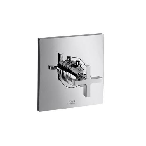Hansgrohe Thermostat Axor Citterio mit Kreuzgriff