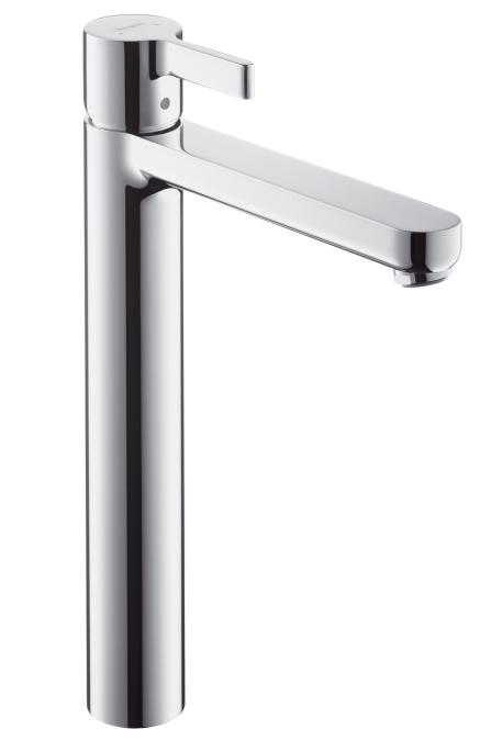 Hansgrohe Metris S Highriser Einhebelmischer für Waschschüsseln