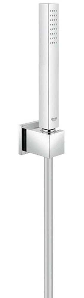 grohe brauseset brausegarnitur euphoria cube mit wandbrausehalter 27702000 ebay. Black Bedroom Furniture Sets. Home Design Ideas