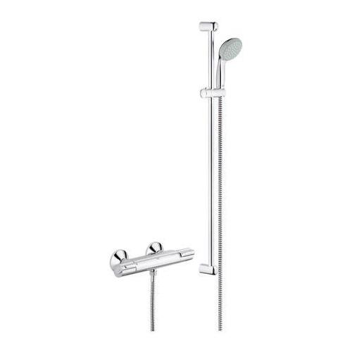 grohe grohtherm 1000 thermostat set duschset 900 mm busdorf. Black Bedroom Furniture Sets. Home Design Ideas