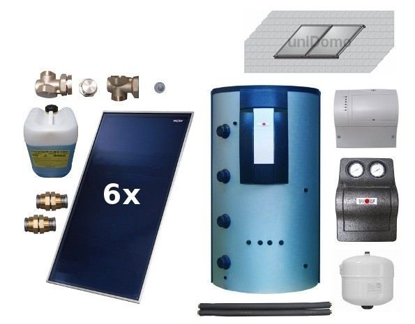 wolf topson f3 1 solaranlage mit schichtenspeicher. Black Bedroom Furniture Sets. Home Design Ideas