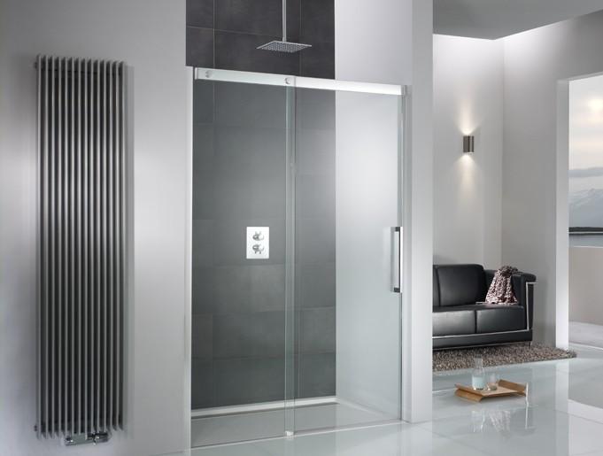 HSK Duschkabine in modernes Bad eingebaut