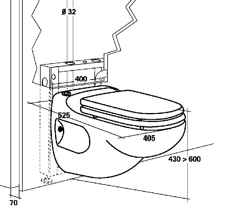 Top SFA Sanibroy Sanicompact Star WC mit integrierter Hebeanlage | UNIDOMO LO06