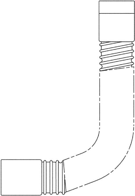 Hansgrohe Secuflex Set - technische Zeichnung