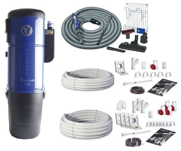 Variovac Zentralstaubsauger Premium-Paket 2