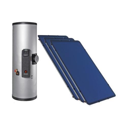 Warmwasserspeicher DHW + Solar-Kollektor SKR