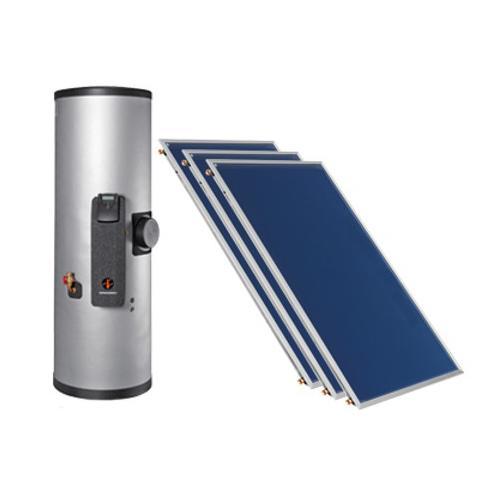 Warmwasserspeicher DHW + Solar-Kollektor SK500N-ECO-AL