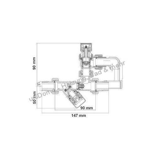 SYR SYROBLOC 24 Trinkwasser-Sicherheitsgruppe - technische Zeichnung
