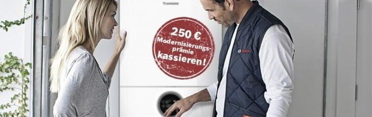 Junkers Heizungs Modernisierung 2017